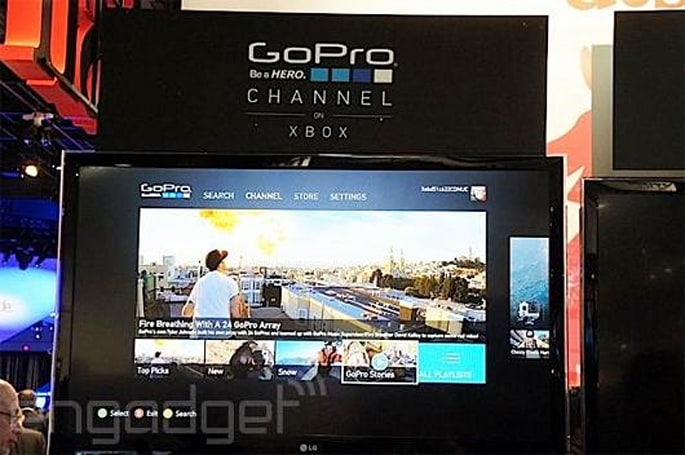 Xtreme: GoPro sports app coming to Xbox 360, Xbox One