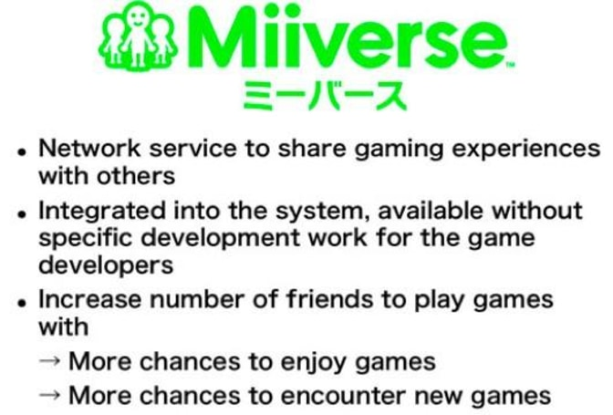 Nintendo planning Direct presentation for Miiverse details, Friend Codes not required