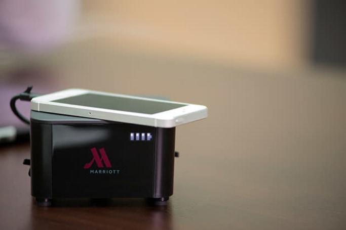 Marriott hotels will soon offer wireless charging in lobbies