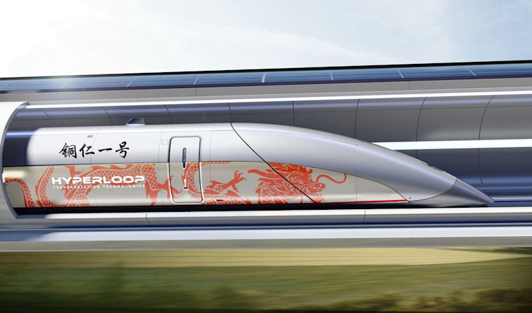 Hyperloop TT will build a track in China
