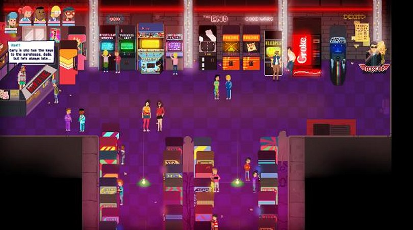 Crossing Souls: 80s RPG about friendship, death and adventure