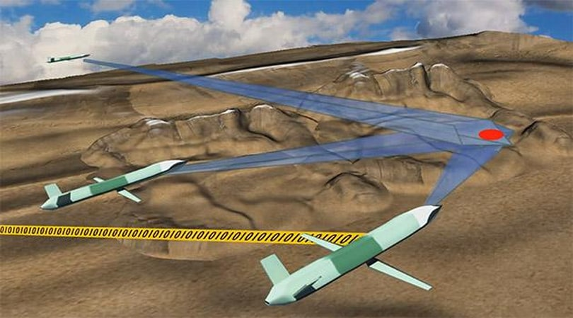 DARPA wants an army of drones to overwhelm the enemy
