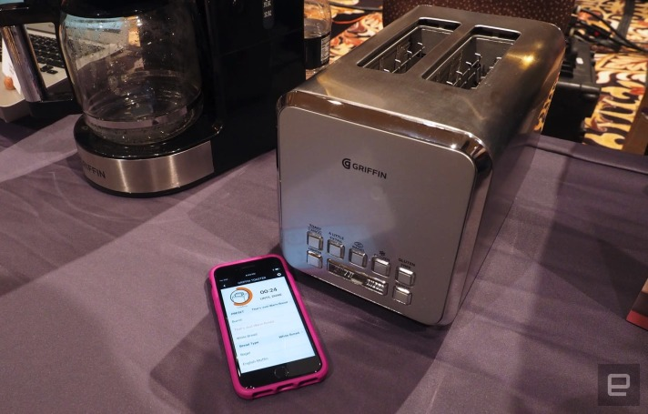 The world now has a smart toaster