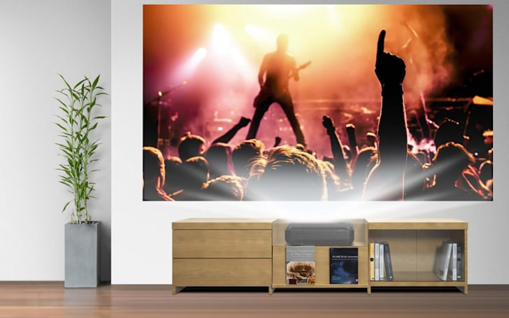 Epson's ultra bright projector can hide in plain sight