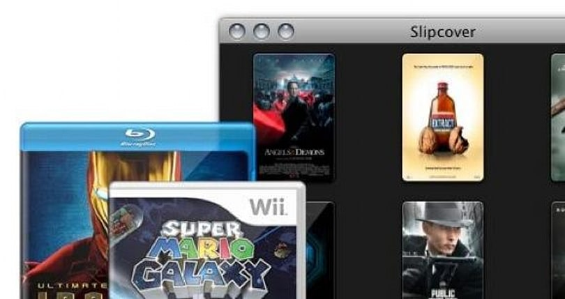 SlipCover helps make case icons for your media