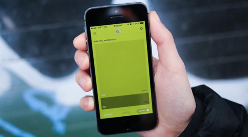 Reporter for iOS tracks your life through mini surveys and pretty graphs