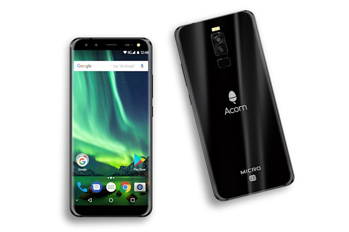 UK tech brand Acorn taps nostalgia to sell a rebranded phone