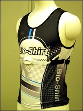 BioShirt to monitor temperature, heart rate of athletes