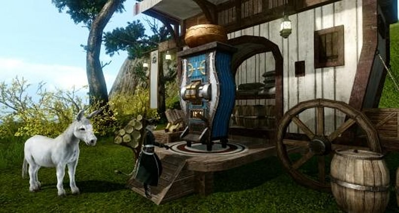 ArcheAge highlights its trade mission mechanics