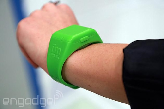 The i'm Tracer bracelet means never having to ask 'where's the kid?'