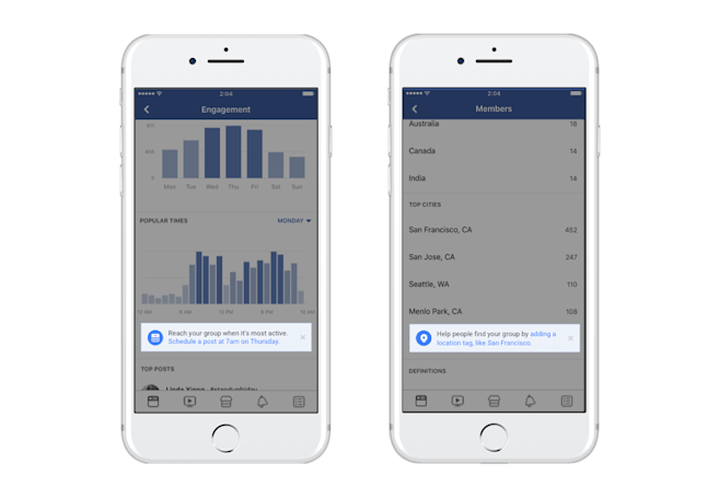 Facebook's new tools help build supportive Groups