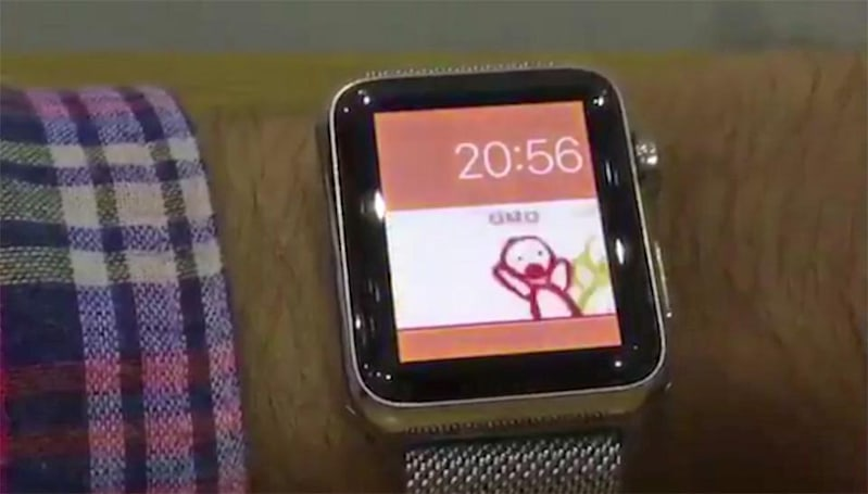 Hack puts custom faces on your Apple Watch