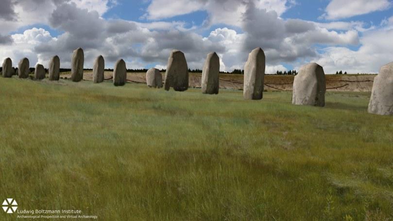 Ground-penetrating radar reveals huge monument near Stonehenge