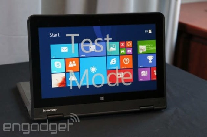 Lenovo's new kid's laptop has a folding, Yoga-like screen (and there's a Chrome OS version too)