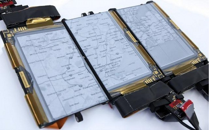 Paperfold is a foldable, transformable smartphone prototype