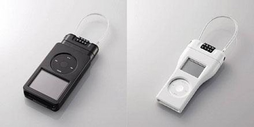 Elecom busts out bicycle-style locks for iPods