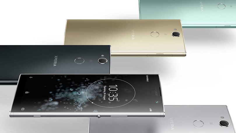 Sony's latest design hits mid-range phones on the Xperia XA2 Plus