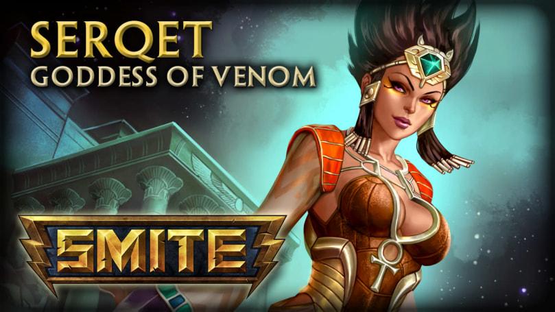 SMITE showcases Serqet, Goddess of Venom