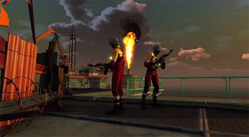 First Sunset Overdrive story DLC tours an oil rig turf war