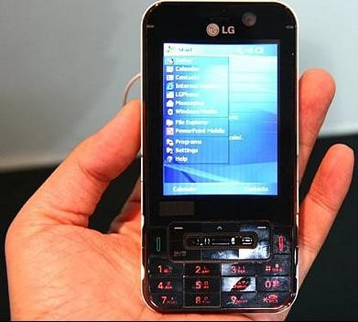 LG's KC1 Windows Mobile-powered smartphone to hit Korea with WiMax