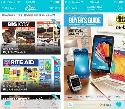 Flipp lets you skip the Sunday newspaper by delivering local circulars to your iOS device