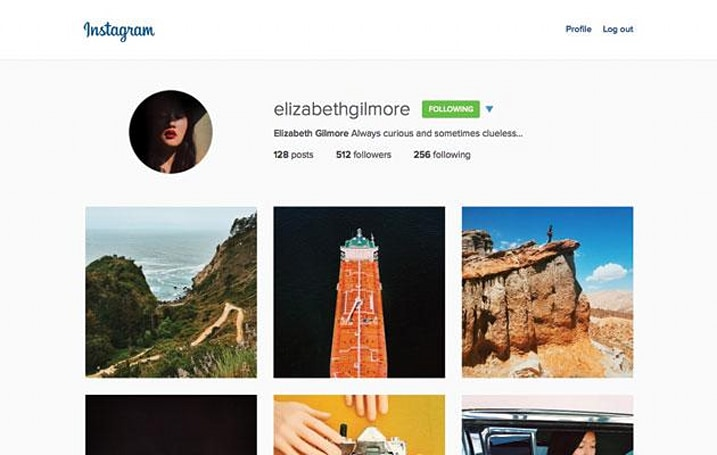 Instagram tidies up web profiles with bigger pictures and less clutter