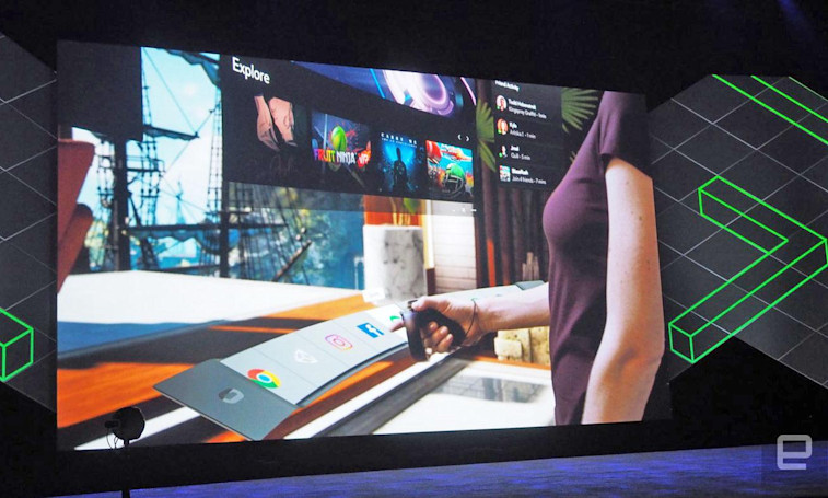 Oculus redesigns the Rift interface for Touch and customization