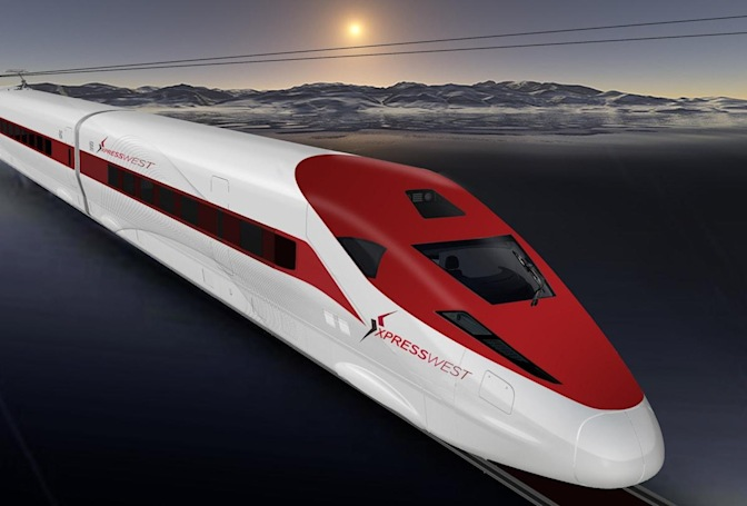 US and Chinese firms agree on high-speed rail plan from LA to Vegas