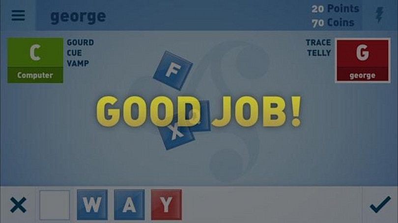 Steal words and make them your own with WordXchange game