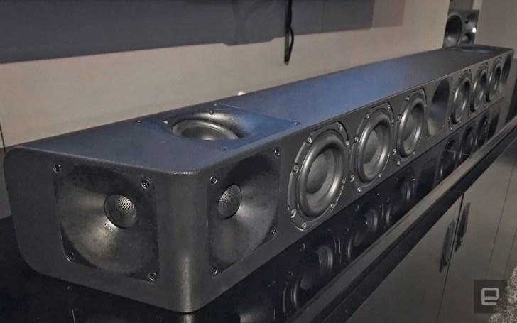 Sennheiser packed its Ambeo 3D audio tech in a soundbar