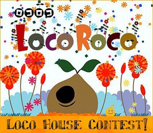 Build a Loco Roco house, win stuff