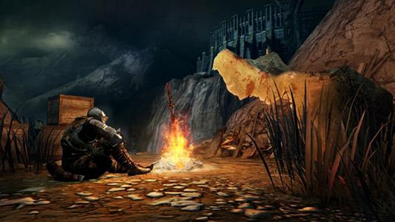 Dark Souls 2 invaded by Shaun of the Dead actor