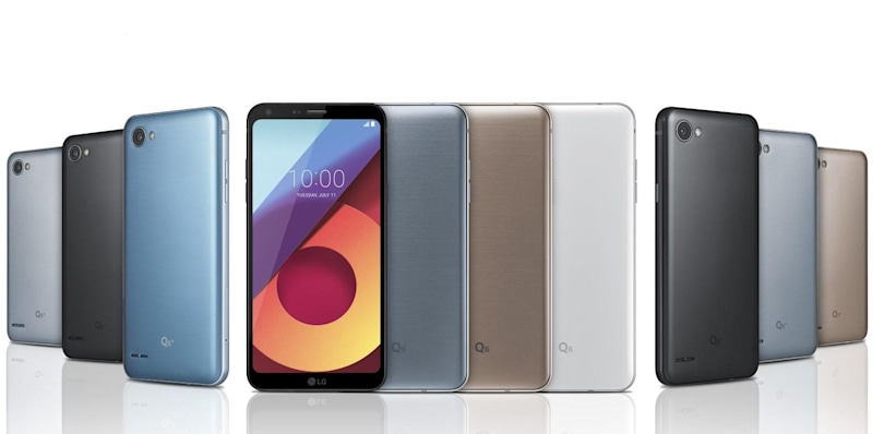 LG Q6 matches big FullVision displays to midrange phones