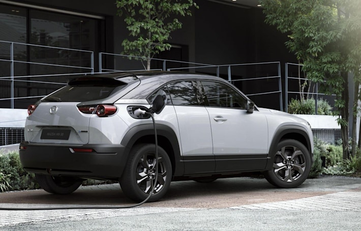 Mazda purposely limited its new EV to feel more like a gas car