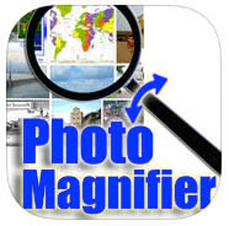 RotoView Photo Magnifier for iOS: Using gestures to examine images in detail