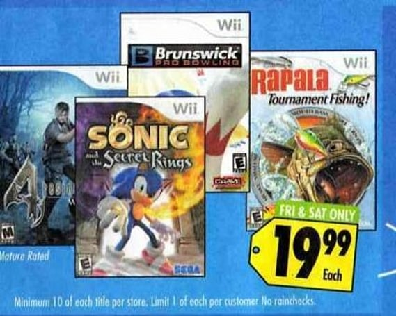 Buy the 'last copies' of these cheap games at Best Buy
