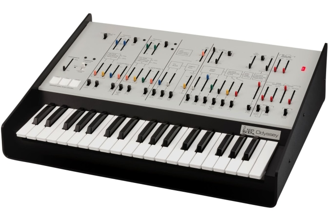 Korg's new ARP Odyssey is a full-size remake of an iconic synth
