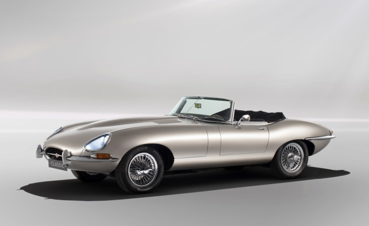 Jaguar will sell all-electric E-types to eco-conscious fans
