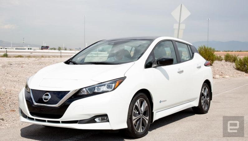Nissan's 2018 Leaf is a smarter, longer-lasting EV