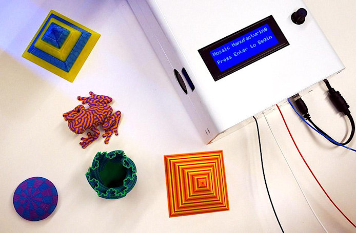 The Palette brings multiple colors to your 3D printer