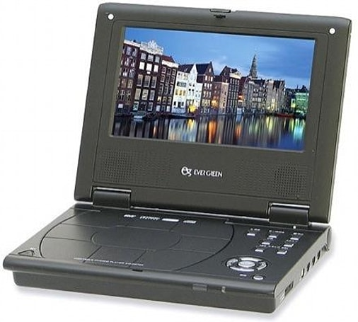 Evergreen's EG-D570X portable DVD player: better, worse, and the same as Sony's