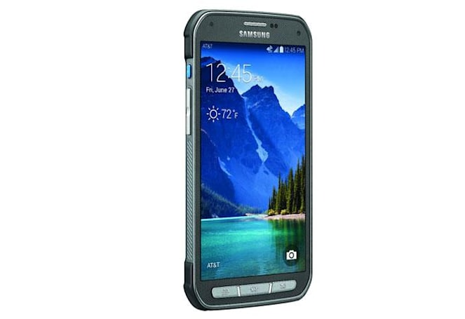 Galaxy S5 Active launches on AT&T: tougher shell, same water resistance