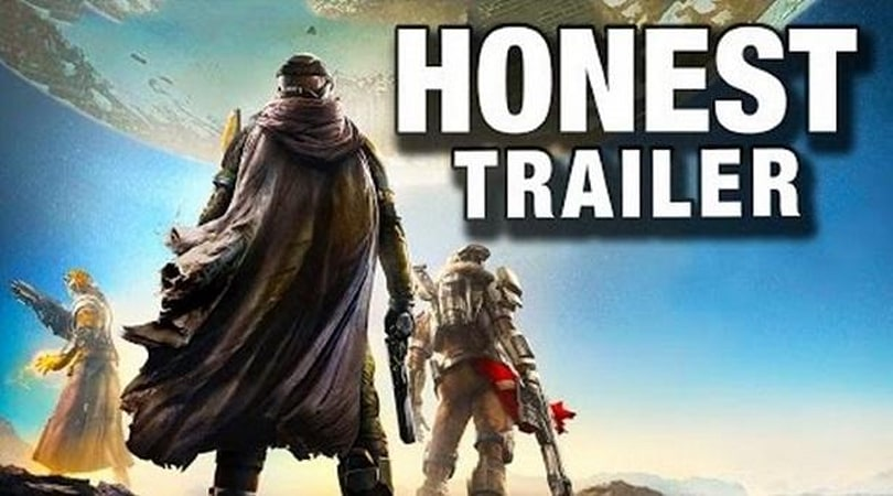 Destiny is the 'hottest 7/10' according to its Honest Trailer