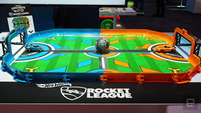 Rocket League Rivals brings absurd car-based soccer to the real world