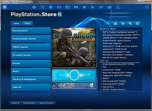 Media Manager 3.0 now available for PSP / PC
