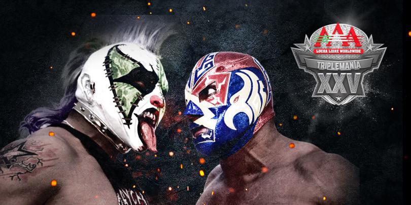 Lucha Libre will stream 'Triplemania XXV' on Twitch