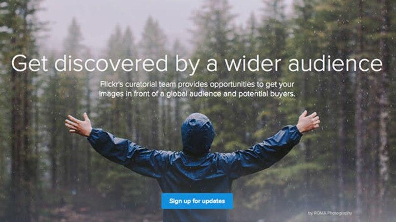 Flickr's new licensing program opens up opportunities for the chosen few
