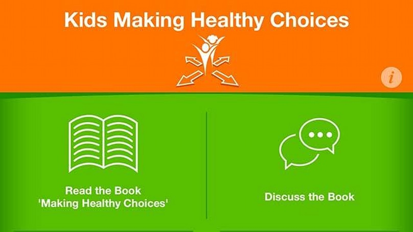 Kids Making Healthy Choices: An app with lifelong positive consequences