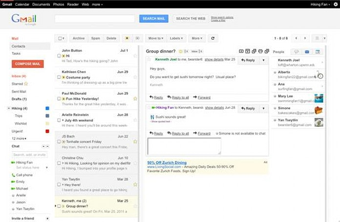 Gmail's Preview Pane brings 'tablet-like' layout to your browser, but kills Multiple Inboxes