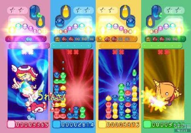Puyo Puyo screenshots, no Bean Machines to be seen